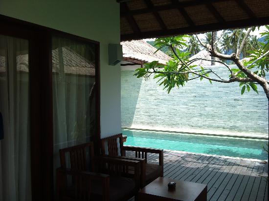private pool villa picture of living asia resort and spa lombok rh tripadvisor co uk Hotel with Pool On Roof best hotel in lombok with private pool