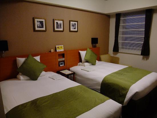 Hotel MyStays Kyoto Shijo: お部屋です。