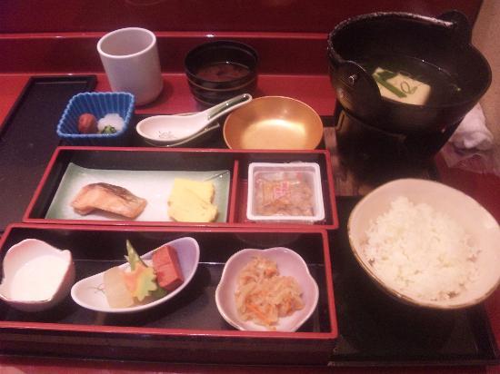 Hotel MyStays Kyoto Shijo: 朝食。