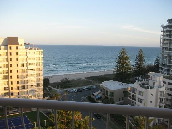 Biarritz Apartments Gold Coast: from balcony floor 11