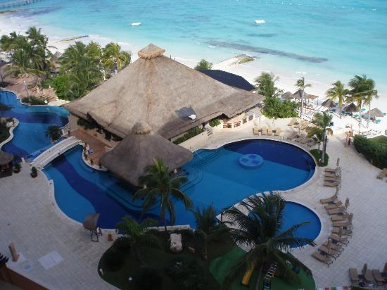 Grand Fiesta Americana Coral Beach Cancun: View from room