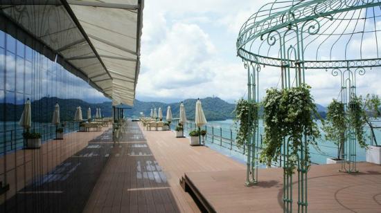Fleur de Chine Hotel Sun Moon Lake : Sky Lounge