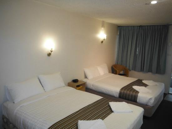 Coffs Harbour Pacific Palms Motel: Twin Room