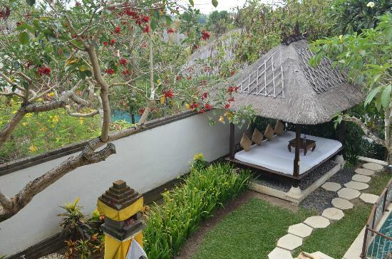 Karma Jimbaran: View from the master bedroom deck