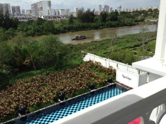 Tajma Sago Resort: vista de la room!!!