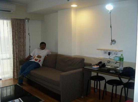 Citadines Sukhumvit 8 Bangkok: Living area