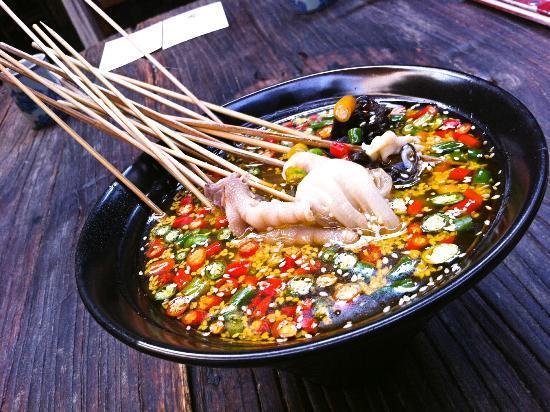 Dezhe Xiaoguan : 鉢鉢雞