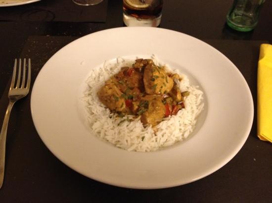 La Verema : Pollo al curry