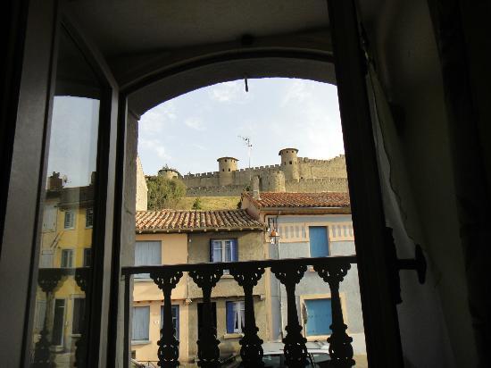 Casa Trivala : Vue sur la Cité de notre lit