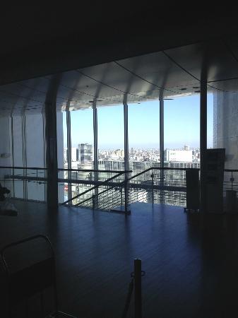 โรงแรมเซาท์เทิร์น เซ็นจูรี่ ทาวเวอร์: Looking over the city from the Lobby on level 20