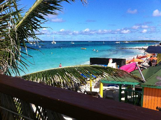 The Sun Beach Clubber : vue panoramique de la terrasse supérieure