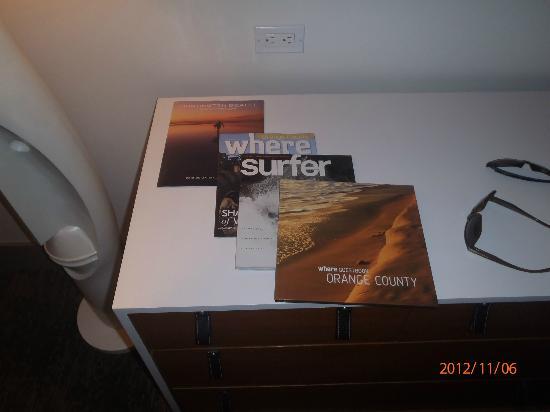 Kimpton Shorebreak Hotel: Magazine supplied in the room