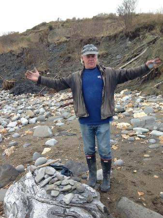 Lyme Regis fossil walks: Paddy 'The Bone' (Our Guide)