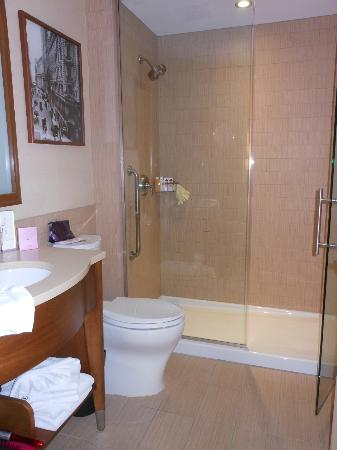 Sheraton Tribeca New York Hotel: Great bathroom and lovely shower