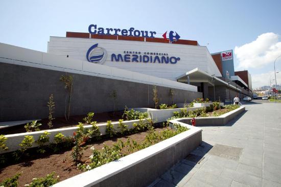 Santa Cruz de Tenerife, สเปน: Fachada CC Meridiano