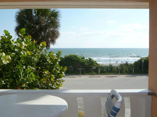 Beach Bungalow: view from the master bedroom