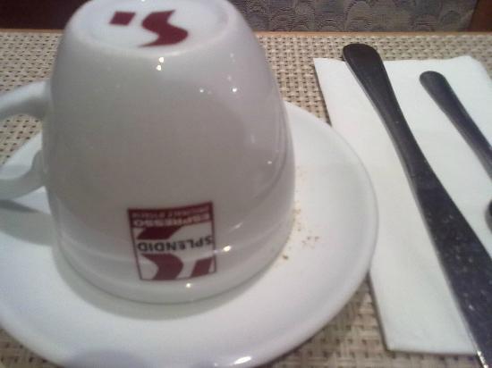 Air Hotel Wartburg: clean coffecup