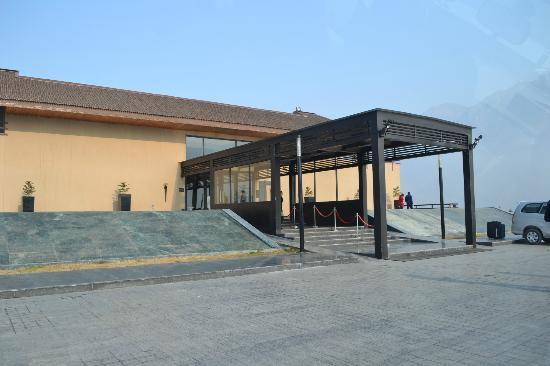 Taj Hotel: Main entrance