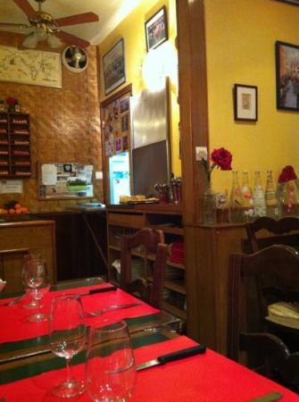La Petite Auberge: une dizaine de places, le meilleur est dans l'assiette!