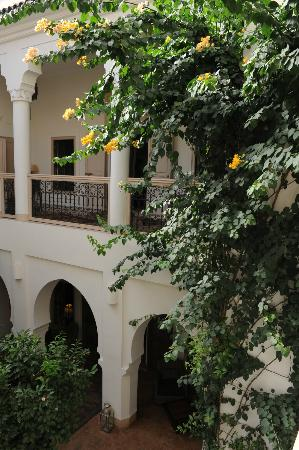 Riad Al Massarah: View from 2nd floor