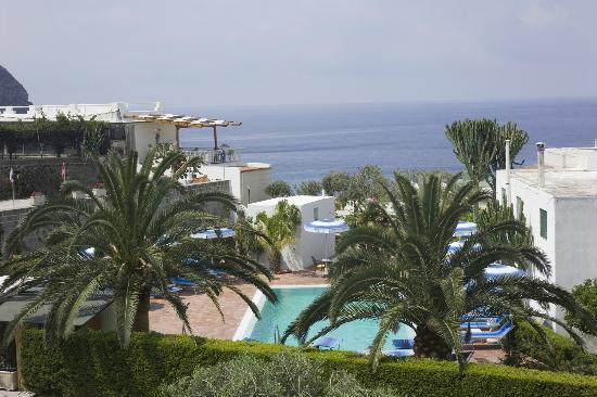 veduta di Ischia dall'hotel Imperamare
