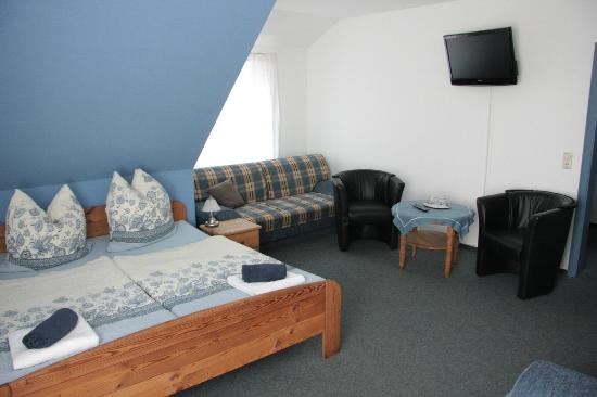 Hotel Alte Schmiede: Doppelzimmer für Aufbettung als Familienzimmer