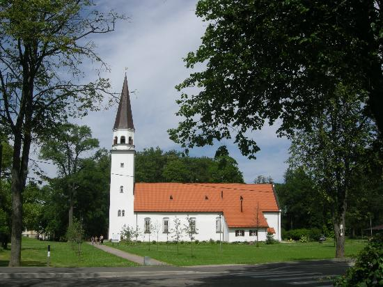 Gauja National Park: Church Sigulda