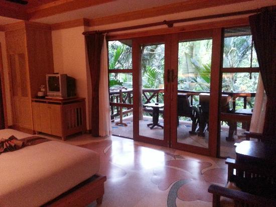 Somkiet Buri Resort: Balcony