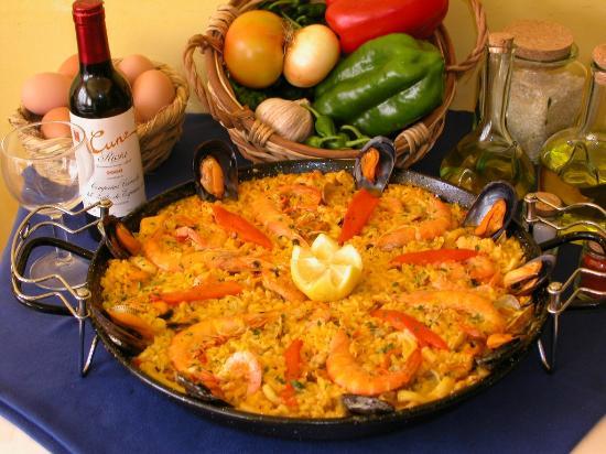 Mesón A Costa: Paella de mariscos