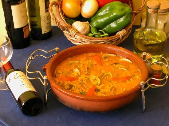 Mesón A Costa: Spaguettis con almejas