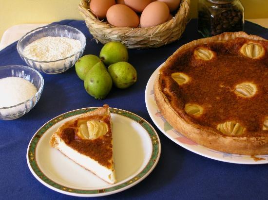 Mesón A Costa: Tarta de pera