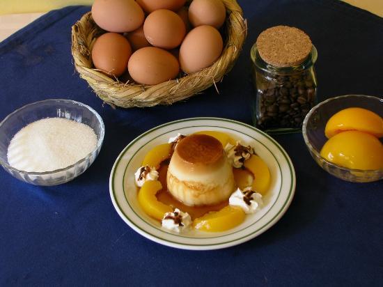 Mesón A Costa: Flan de huevo casero