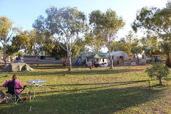 Yardie Homestead Caravan Park : Grassed camp ground