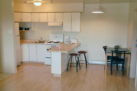 Grenfell Campus Summer Accommodations, Memorial University Of Newfoundland:  Kitchen Area In The Chalets Part 72