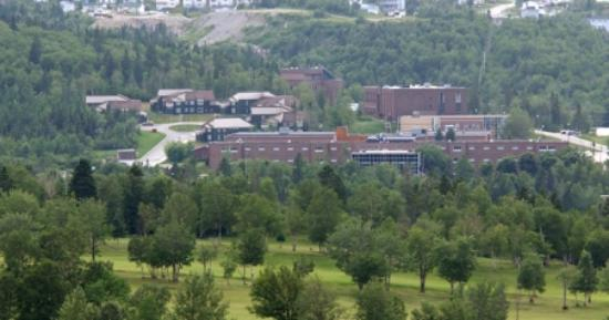 Grenfell Campus Summer Accommodations, Memorial University of Newfoundland : The Campus