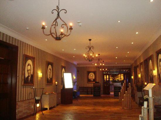 """Hotel """"Bell Rock"""" Europa-Park: Couloir qui mène au restaurants."""