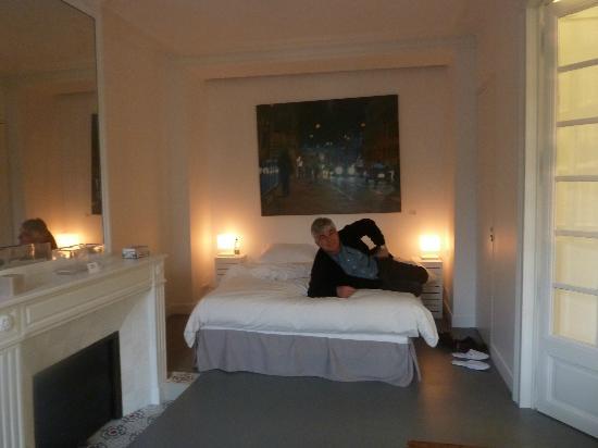 L'Hôtel Particulier : chambre