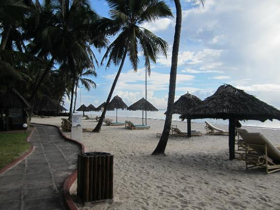 Diani Reef Beach Resort & Spa: Hotelstrand