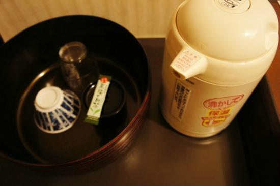 Hotel Los Inn Kochi: ポットはお湯がたくさん沸かせて便利でした。