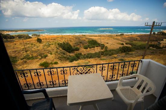 Alexis Hotel, Chania: sea view room