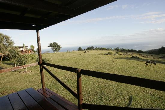 Kwelanga Country Retreat: View from Chalet