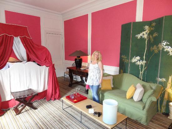 Chambres D'hotes Hotel Verhaegen: Beautiful romantic room