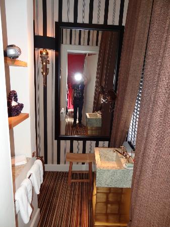 Chambres D'hotes Hotel Verhaegen: Bathroom