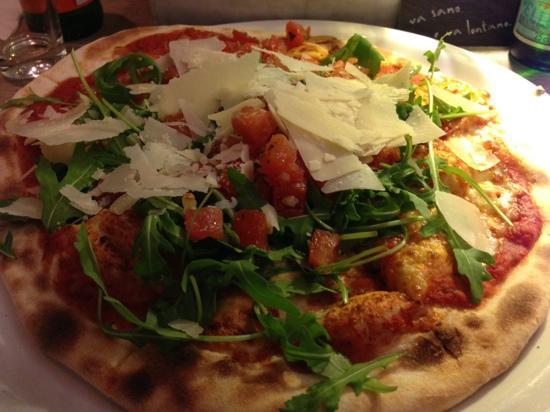Vapiano: pizza bruschetta