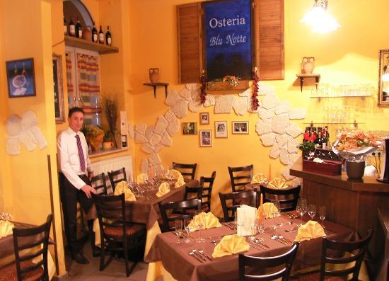 Osteria Blu Notte: Gourmetabend