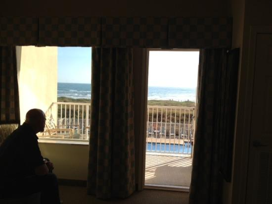 Hilton Garden Inn South Padre Island: View from hotel room
