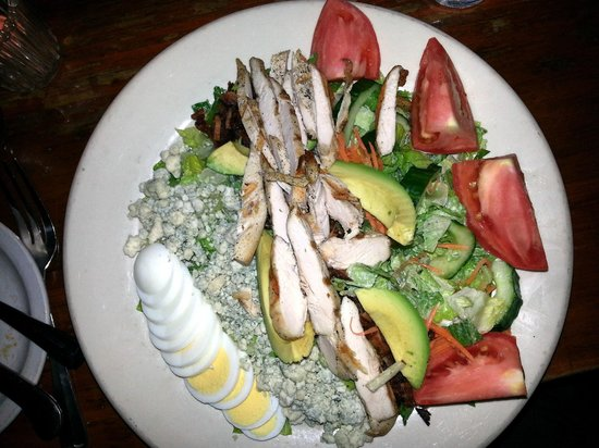 Hunter's Head Tavern: Huge & Delicious Cobb Salad topped with grilled chicken breast