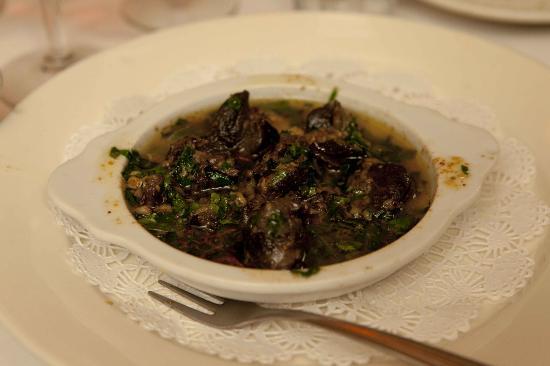 Bistro Les Amis: Raviolis D´ Escargot