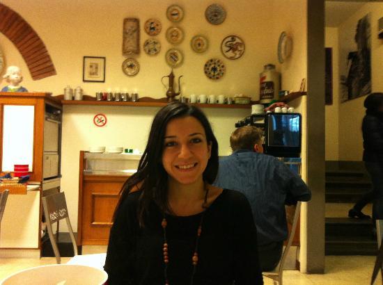 Hotel Nuova Italia: Breakfast place
