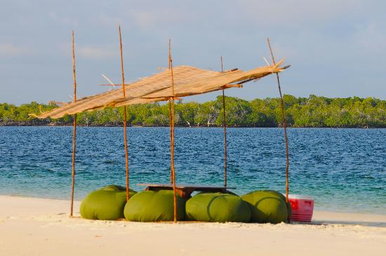 The Funzi Keys: Sandbar